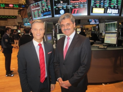 Im Interview mit Siemens-Chef Joe Kaeser