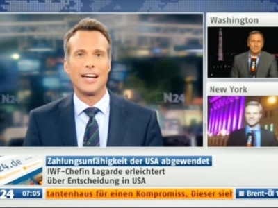 Manuel Koch live bei N24