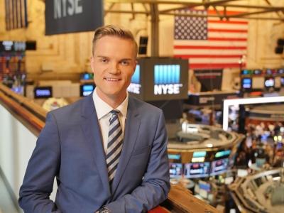 Manuel Koch in der NYSE