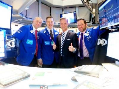 Mit Händlern an der NYSE