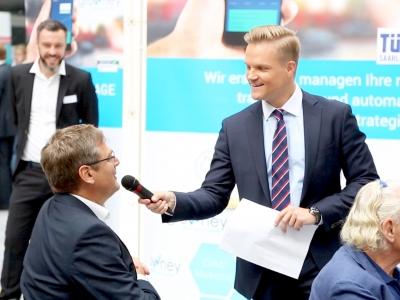 Manuel Koch moderiert den BörsenTag Berlin