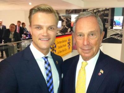 Mit Milliardär Michael Bloomberg