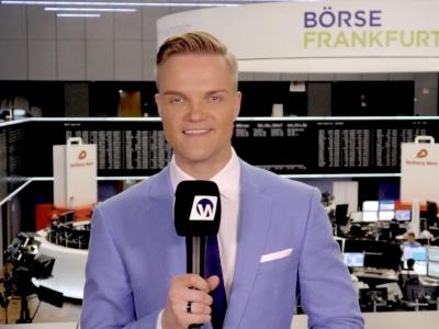 Manuel Koch an der Frankfurter Börse