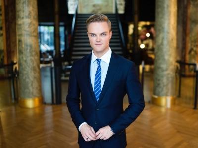Manuel Koch in seinem Berliner Büro