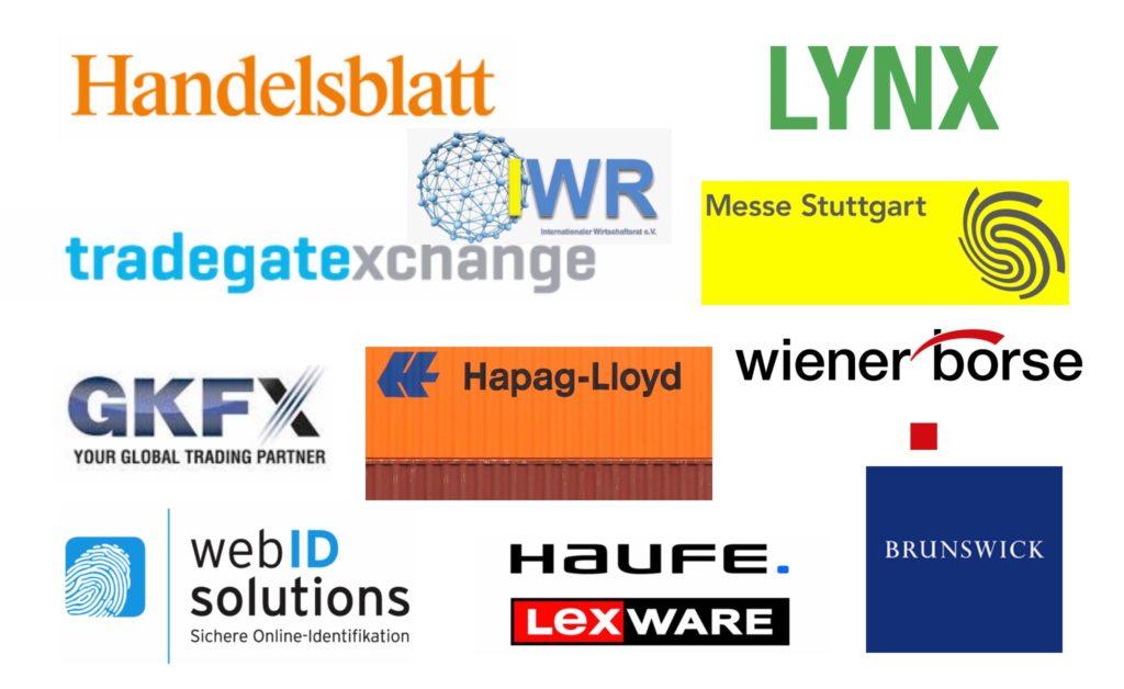 Logos unserer Kunden